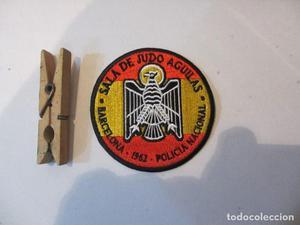 parche bordado de judo aguilas policia nacional