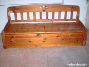 banco cocina de madera maciza de pino posot class
