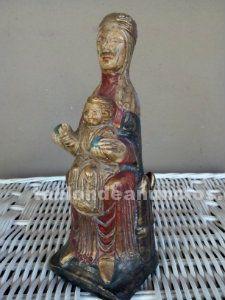 Figura de virgen románica