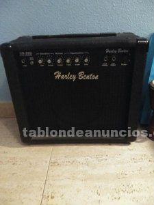Guitarra eléctrica + amplificador + etc