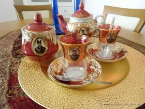 Juego tú y yo de té turco.