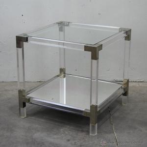Mesas auxiliares metacrilato dise os arquitect nicos - Muebles de metacrilato ...