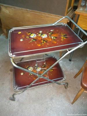 Mesa camarera vintage a os estructura girona posot class for Mesa camarera plegable