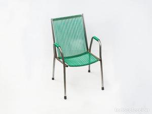 2 silla plegable infantil tumbona scoubidou azul posot class for Silla plegable infantil