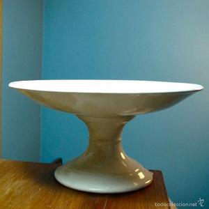 frutero antiguo vintage cerámica porcelana antigua