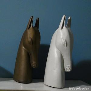 pareja caballo cerámica vintage diseño HORSE ANETTE EDMARK
