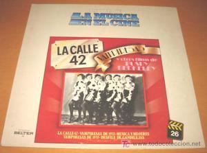 BSO - LA CALLE 42, VAMPIRESAS Y OTRAS / BUSBY BERKELEY -LP -