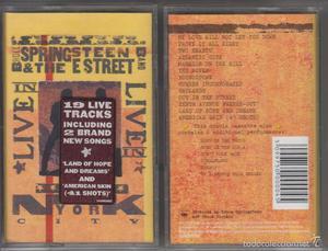 Bruce Springsteen & The E Street Band Doble cassette Live in