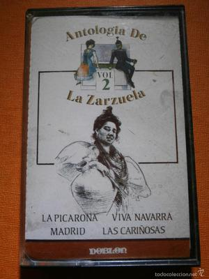 CINTA DE CASSETTE - Antología de la Zarzuela - Zarzuelas 2