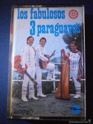 CINTA DE CASSETTE - LOS FABULOSOS 3 PARAGIAYOS -  -