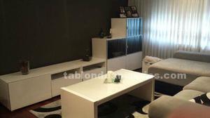 Conjunto mueble salón y mesa b/n