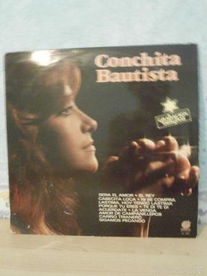 DISCO - VINILO - LP - CONCHITA BAUTISTA - IMPACTO -  -