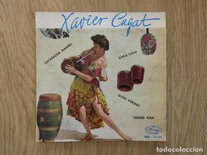 EP MERCURY  XAVIER CUGAT CUCARACHA MAMBO OJOS VERDES