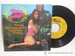 EP RITMOS DE SIEMPRE... VALENCIA + 3 ** EKIPO - AÑO