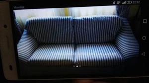Se vende sofa tres plazas