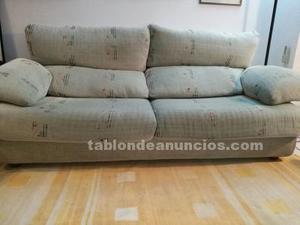 Vendo sofá de tres plazas