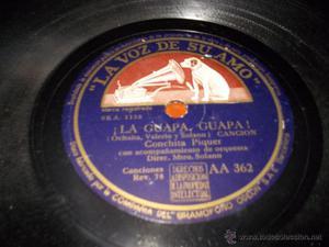 canta morena disco la voz de su amo AA362