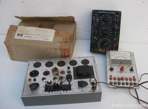 comprobador de valvulas de multiples circuitos y mas