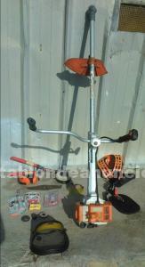 Desbrozadora sthil 550 y accesorios