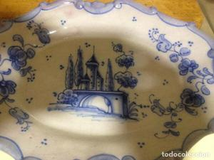 Fuente decorativa colgar cerámica LUFECO- Valencia- Pintada