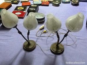 LAMPARAS MESITA DE NOCHE ANTIGUAS