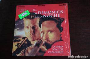 LASER DISC LOS DEMONIOS DE LA NOCHE. Val Kilmer Michael
