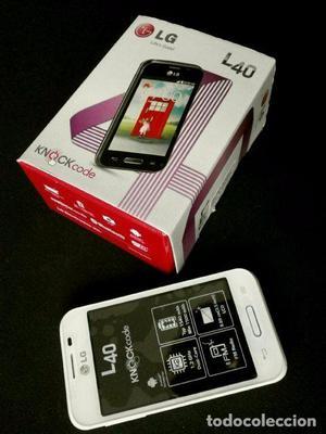 Teléfono MOVIL LG MODELO L40 - COMO NUEVO L 40