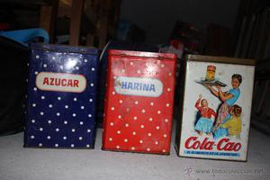 latas de cola cao