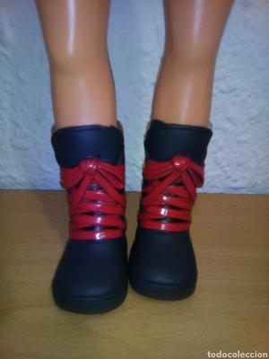 BOTAS ORIGINALES MUÑECA NANCY NEW FAMOSA