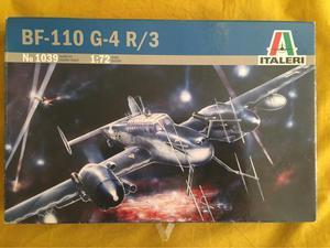Bf-110 G-4 R/3 maqueta avión
