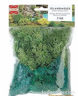 Busch  Musgo de Islandia, color verde. 35gr.