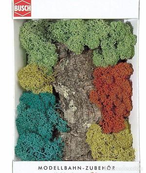 Busch  Musgo de Islandia, varios colores. Decoración,
