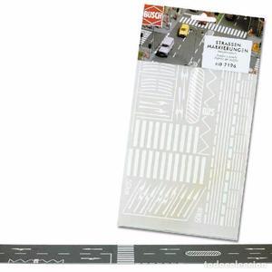 Busch  Señales y líneas para asfalto autoadhesivas.
