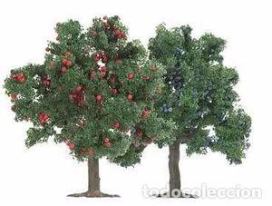 Busch  Set de 2 Arboles frutales 75 mm.