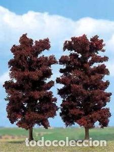 Busch  Set de 2 hayas rojas 150 mm.