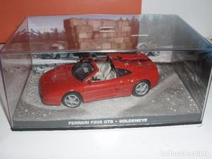 COCHES FERRARI F 355 GTS JAMES BOND 007 PELICULA GOLDENEYE