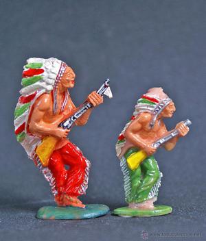 Indios de Lafredo diferentes escalas como nuevos
