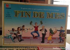 JUEGO DE MESA - FIN DE MES- DE MB