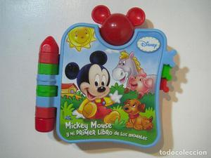 Mi Primer Libro Musical Mickey CLEMENTONI - MICKEY MOUSE Y