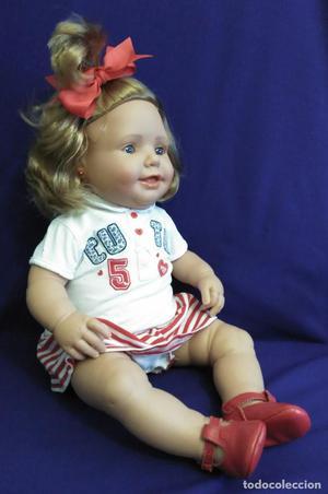 Muñeca bebe replica de muñeco pepon de MARIQUITA PEREZ