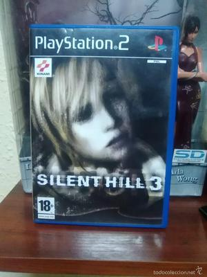 SILENT HILL 3 - SONY PLAYSTATION 2 - PS2 - COMPLETO - BUEN