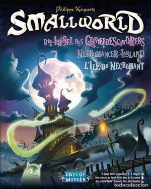 SMALL WORLD EXPANSIÓN (NECROMANCER ISLAND) PRECINTADO