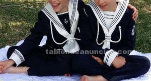 Se vende traje comunión marinero azul marino