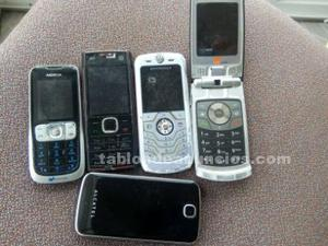 Se venden telefonos moviles usados