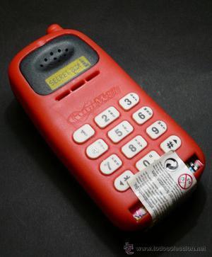 TELÉFONO MOVIL DE JUGUETE