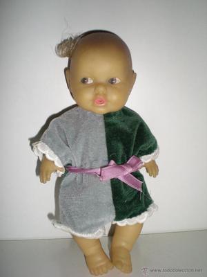 muñeca pequeña mi nene de berjusa años 70 completo de