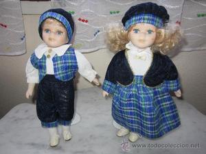 parejita de muñecos