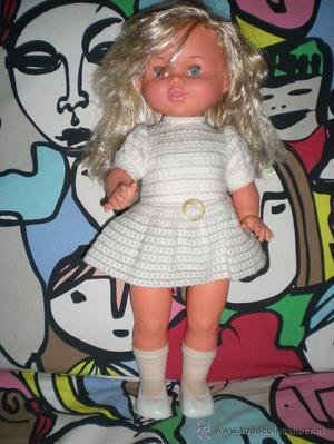preciosa muñeca grissela de jesmar graba y reproduce tu voz