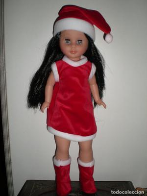 preciosa muñeca kika mama noel nueva de fabrica sin uso