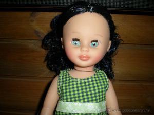 preciosa muñeca pepa morena de vidal rojas customizada por
